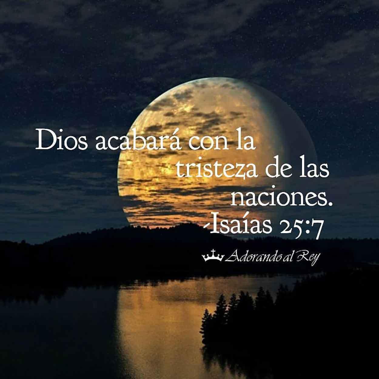 Isaías 25:7