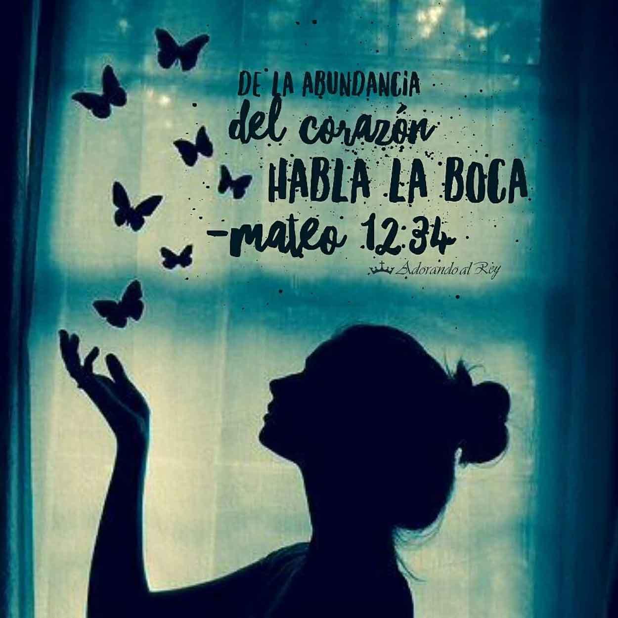 Mateo 12:34