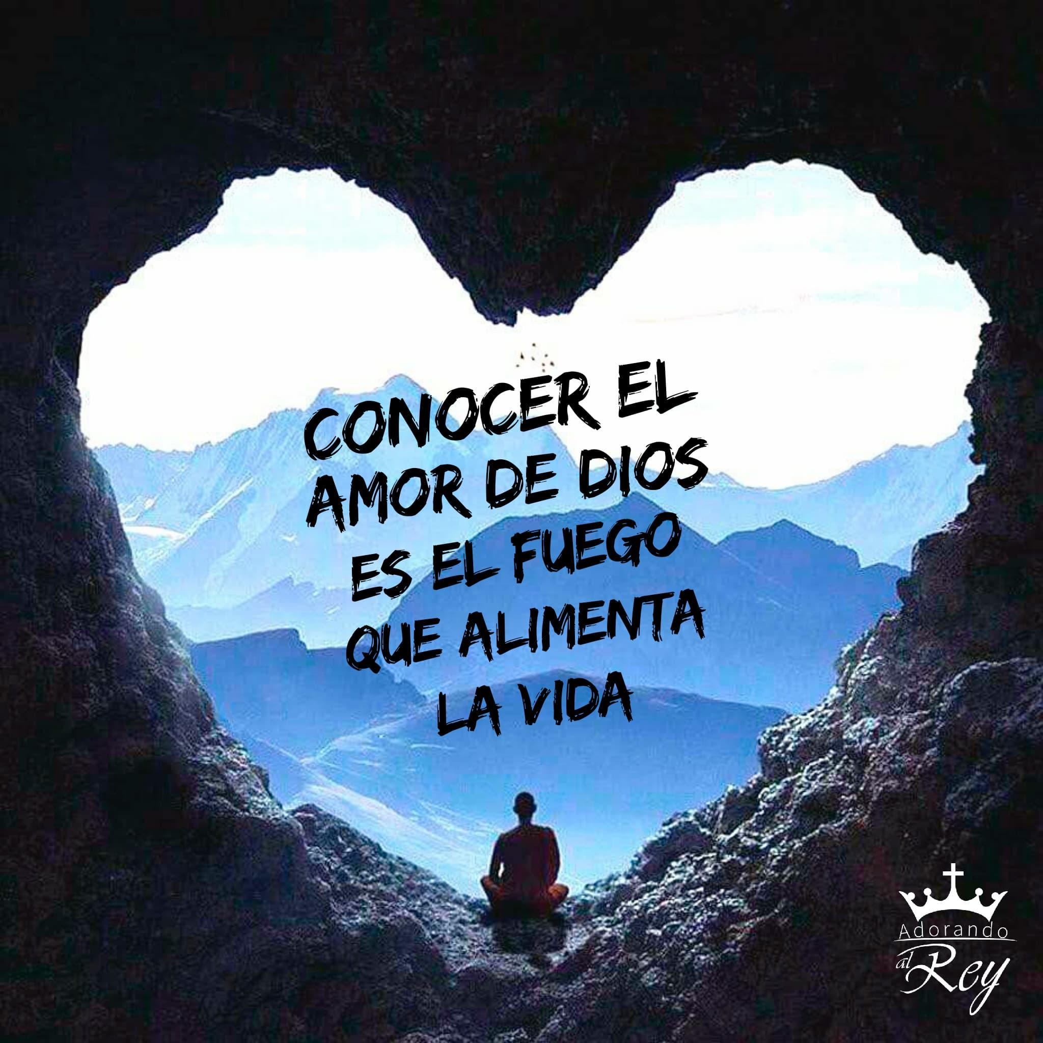 Conocer el amor de Dios