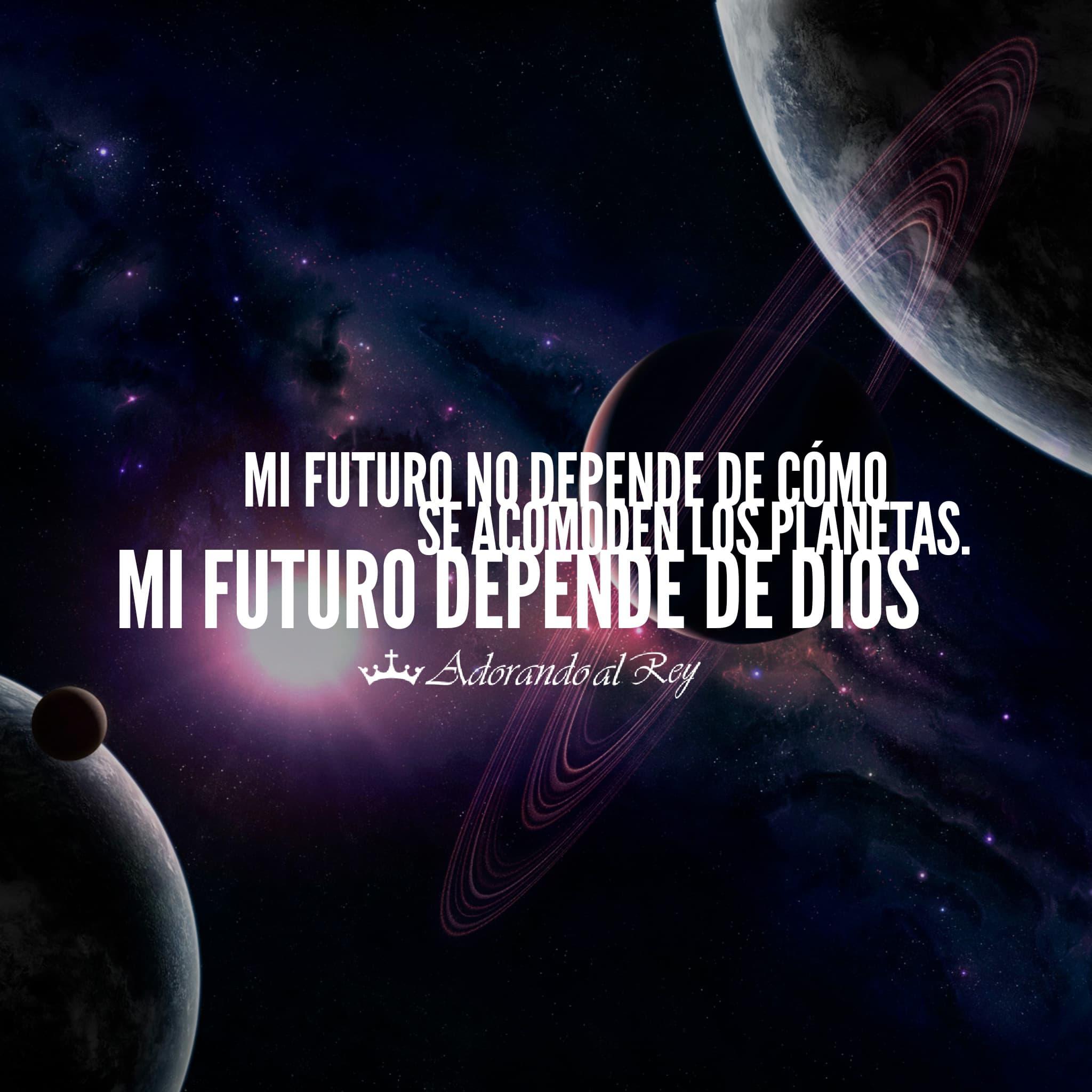 Mi futuro depende de Dios