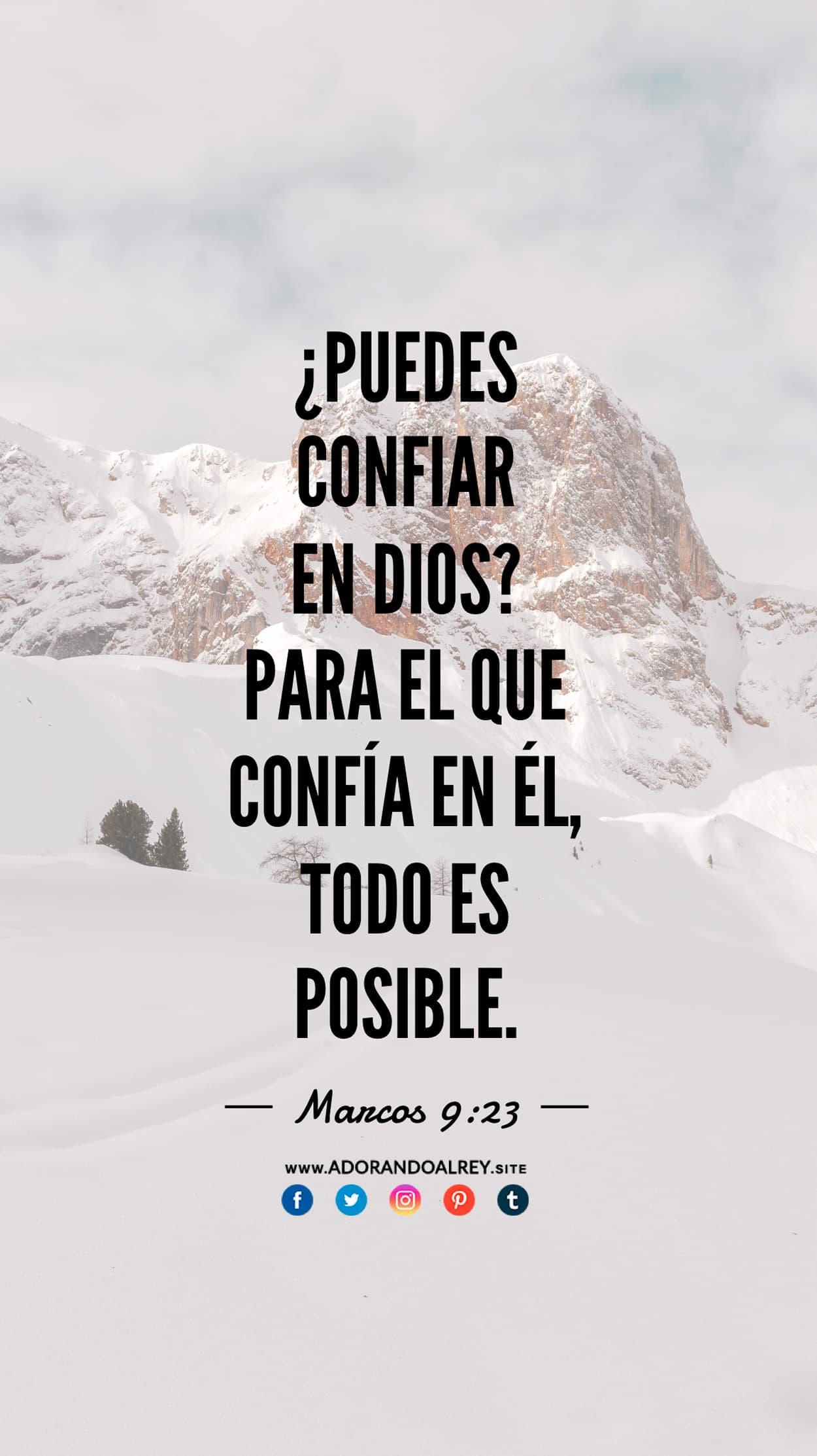 Marcos 9:23